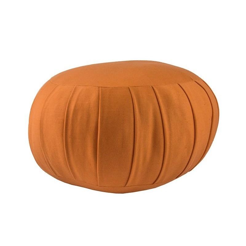 Zafu standard (kapok), orange