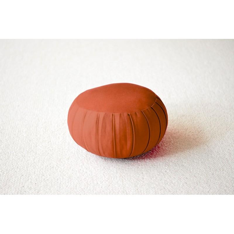 Zafu petit modèle (kapok) orange