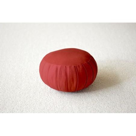 Zafu petit modèle (kapok) rouge
