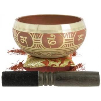 bol chantant tibétain 13,5 cm alliage 7 métaux