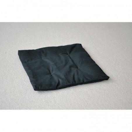 petit zafuton noir 60 x 60 cm