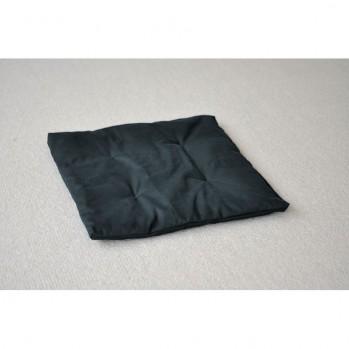 petit zafuton noir 60 x 60 cm noir