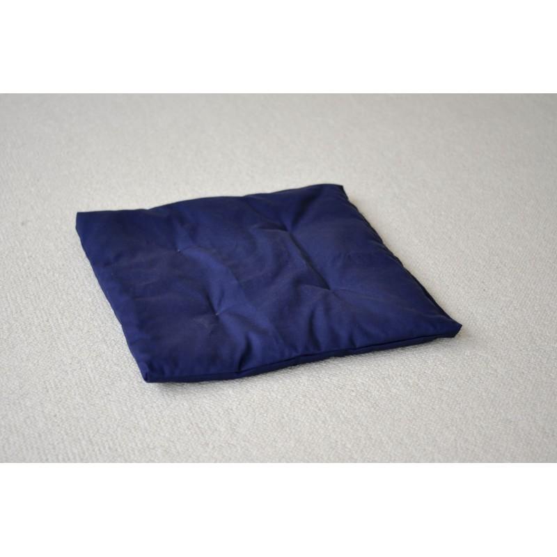 petit zafuton bleu 60 x 60 cm bleu marine