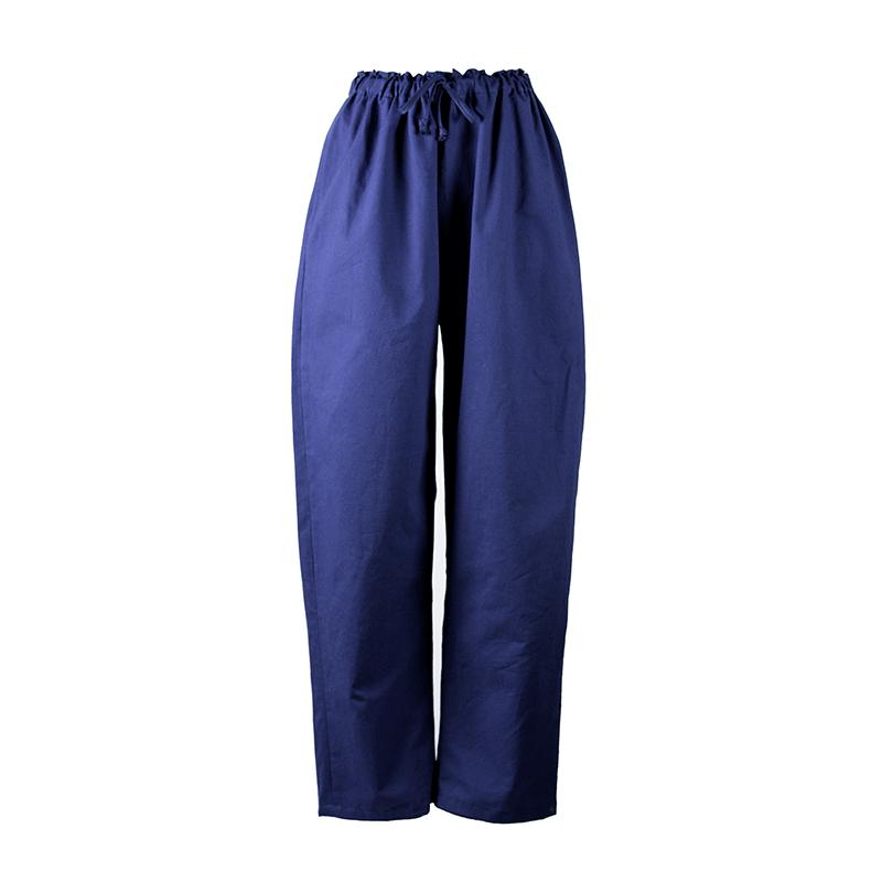 Pantalon de détente bleu indigo