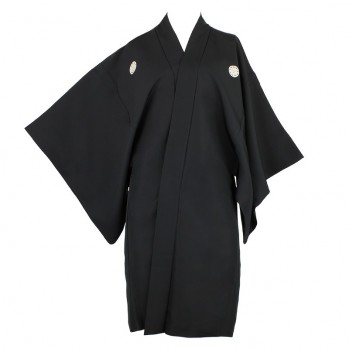 Haori en soie, kimono du Japon, pièce unique