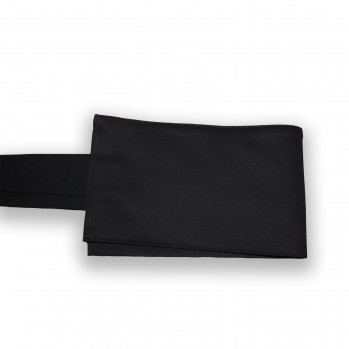 obi ceinture de kimono noire