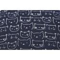 Imprimés Chats Tissu japonais