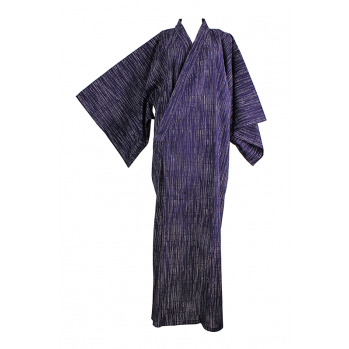 Yukata indigo, vêtement traditionnel du Japon