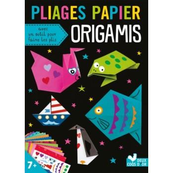 livre pliages papier origamis