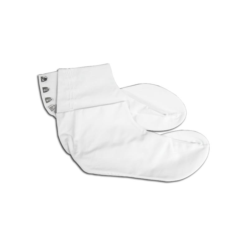 Bessu, chaussette blanche en coton, pour les cérémonies dans les dojos et les temples zen