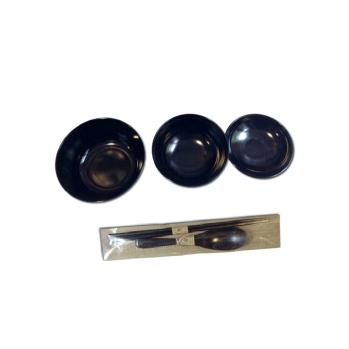 Set de 3 bols oryoki et couverts