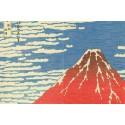 noren Mont Fuji rideau japonais