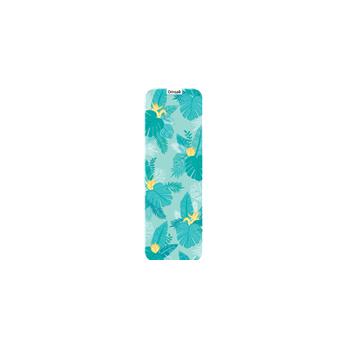 Tapis de yoga tropical bleu, pour la pratique des exercices, la pleine conscience