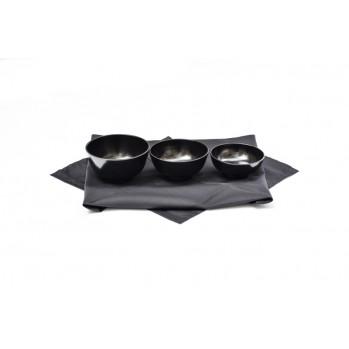 Set de 3 bols oryoki furoshiki