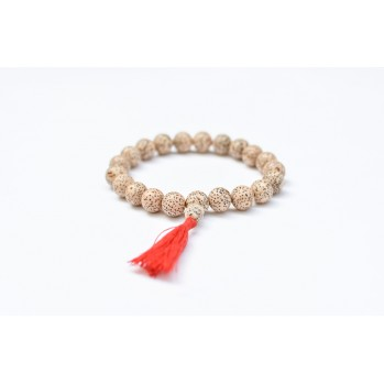 Mala bracelet en graine de lotus