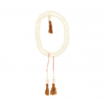 Mala Os blanc 108 perles