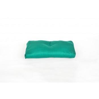 Coussin pour banc de méditation vert émeraude