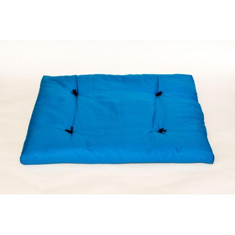 Zafuton épais bleu turquoise