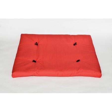 Zafuton épais rouge