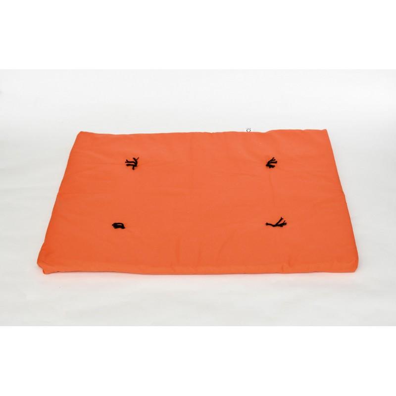 Zafuton de voyage orange