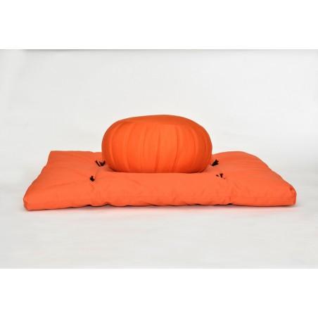 zafu et zafuton orange