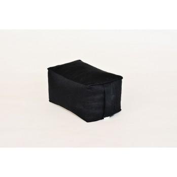Mini-zafu brique noir (épeautre)
