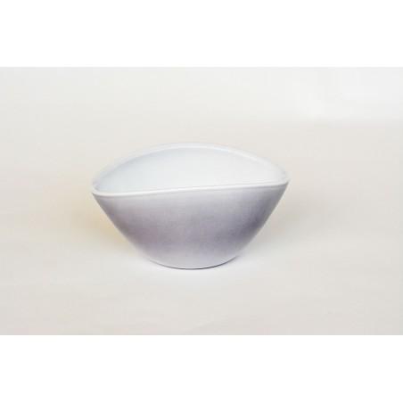Vase gris pour ikebana et art floral