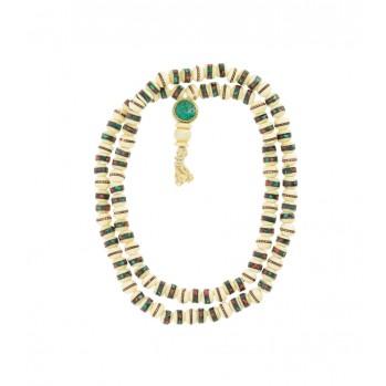 Os avec incrustations 108 perles