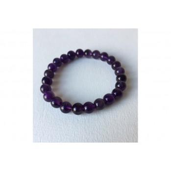 Mala bracelet Amethyste, 8 mm