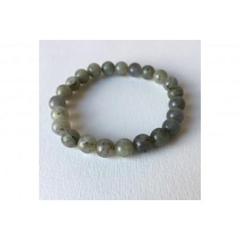 Mala bracelet Labradorite, 8 mm