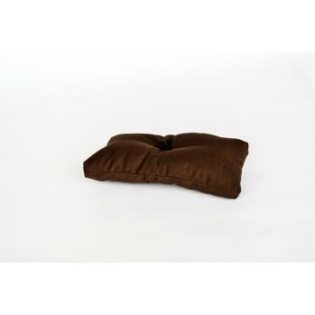 Coussin pour banc de méditation marron