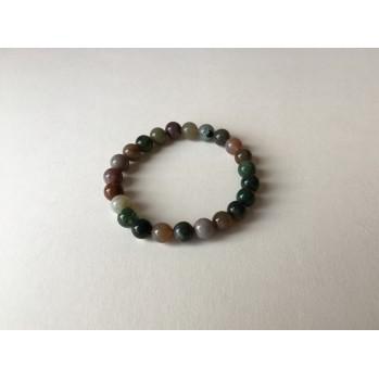 Mala bracelet en Agates d'Inde