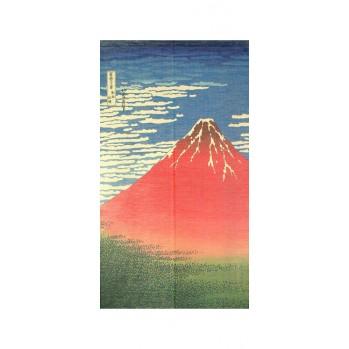 Noren Mont Fuji, rideau japonais