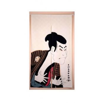 Noren Sharaku , rideau japonais