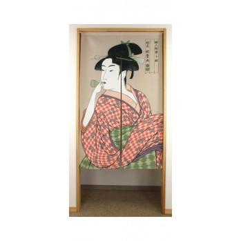 Noren Kamaruro , rideau japonais