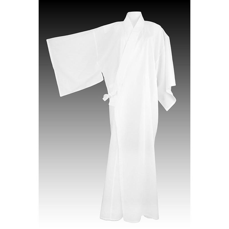 Kimono long blanc classique