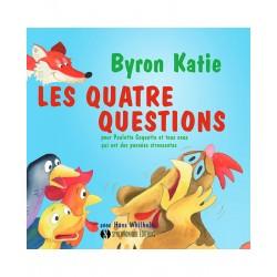 Livre : Les quatre questions pour Poulette Coquette et tous ceux qui ont des pensées stressantes. De 4 à 8 ans.
