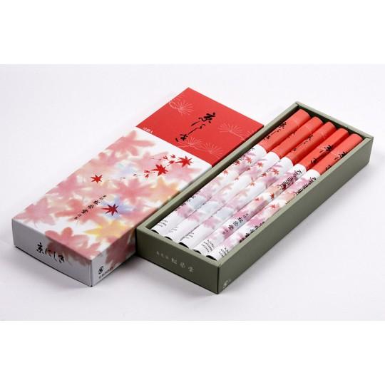 """Encens japonais de méditation Santal, herbes et cannelle """"Kyo-Nishiki"""""""