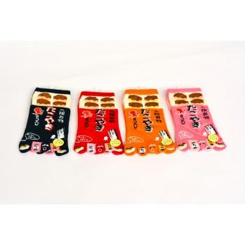 Chaussettes japonaises (tabi) Motif Pieuvre, 35-39