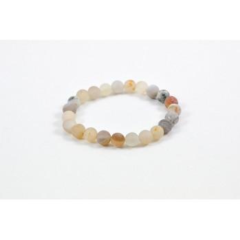Mala bracelet en agate druze