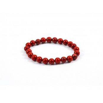 Mala bracelet en jaspe rouge