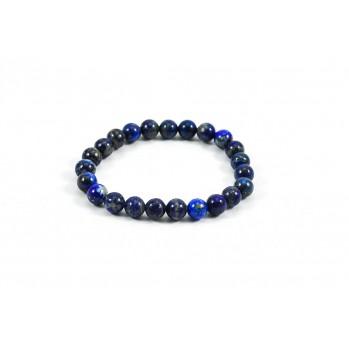 Mala bracelet en lapis-lazuli