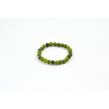Mala bracelet Enfant en Jade, 25 perles de 6 mm