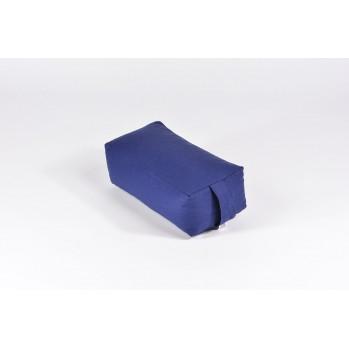 Zafu rectangulaire (épeautre) bleu