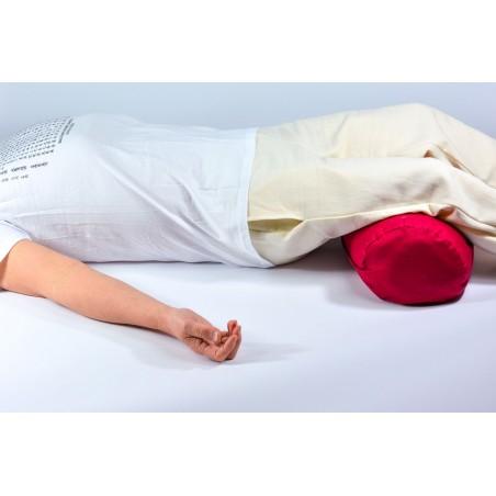 Bolster de yoga - posture savasana