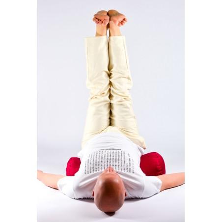 Bolster de yoga - posture viparita karani