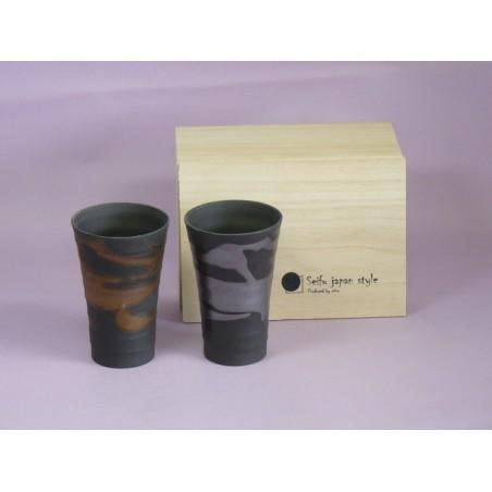 Mug en céramique noire