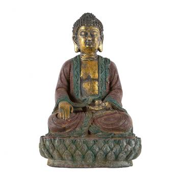 Statue Bouddha de Nara en fonte du Japon
