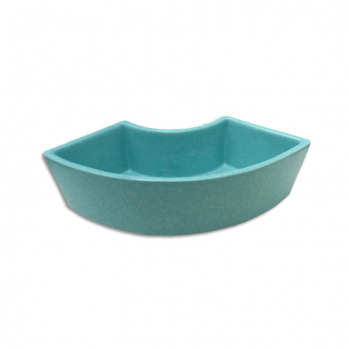 Vase pour ikebana, bleu turquoise
