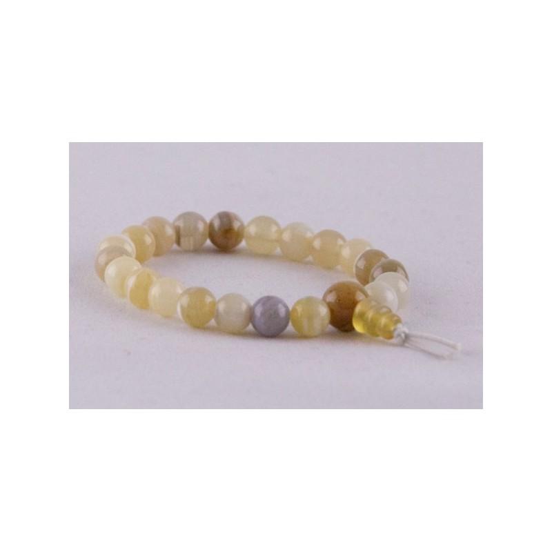 Mala bracelet en agate